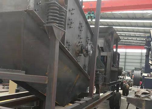 云南大型移動篩沙機供應