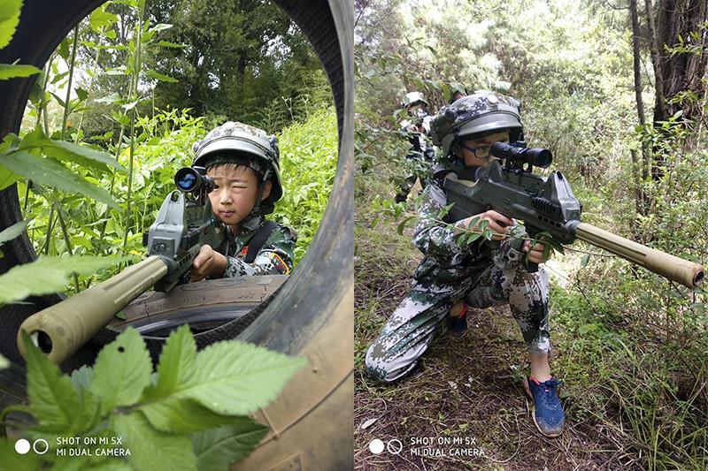 昆明亲子军事游学夏令营