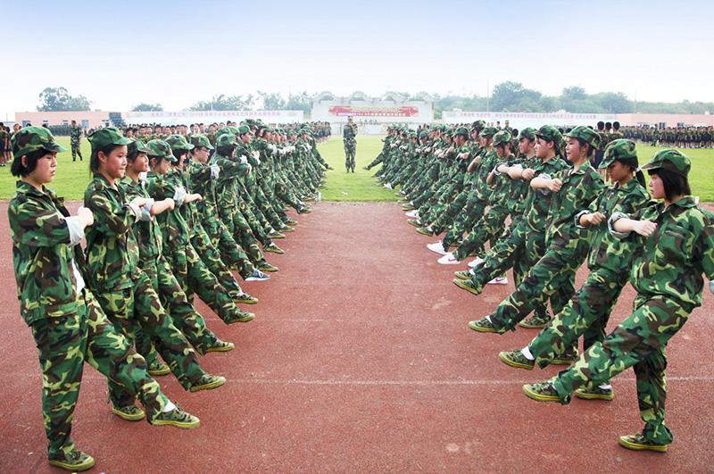 军训项目-队列训练