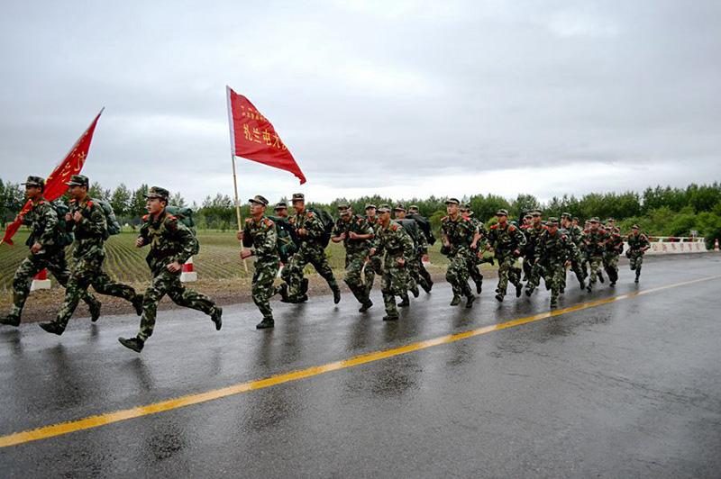军训项目-五公里跑步训练