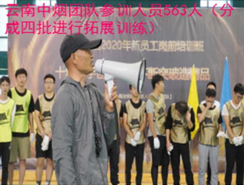 云南中烟团队参训人员