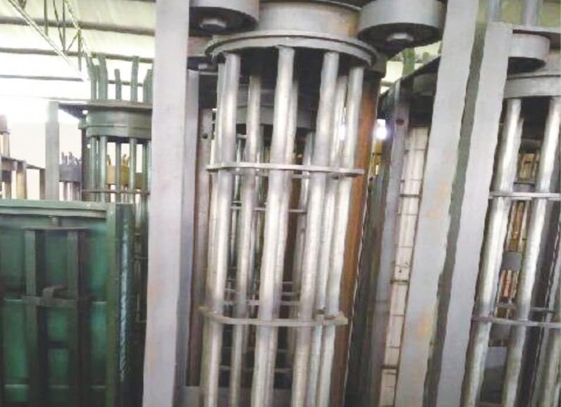 圍欄間隔柱設備