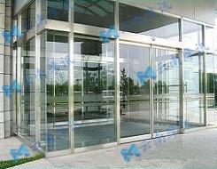 電動玻璃感應門