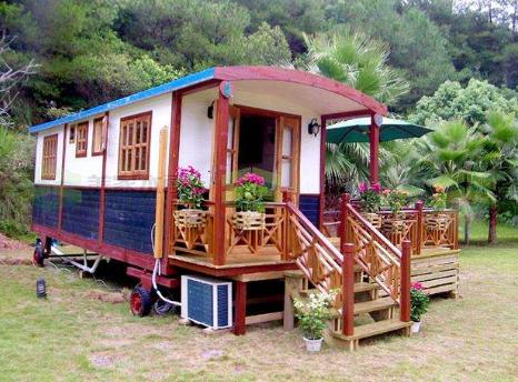移动木屋房车