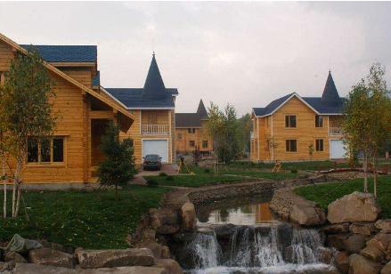 景区大型木屋别墅