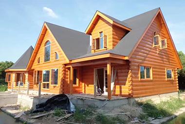 休闲木屋别墅建造