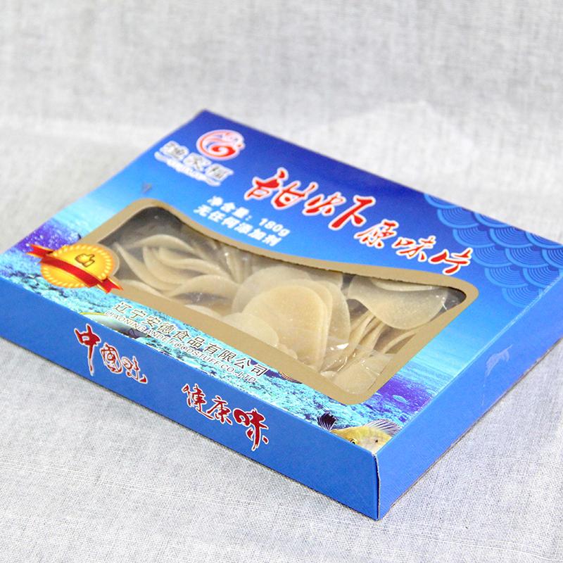 盒装甜虾原味虾片