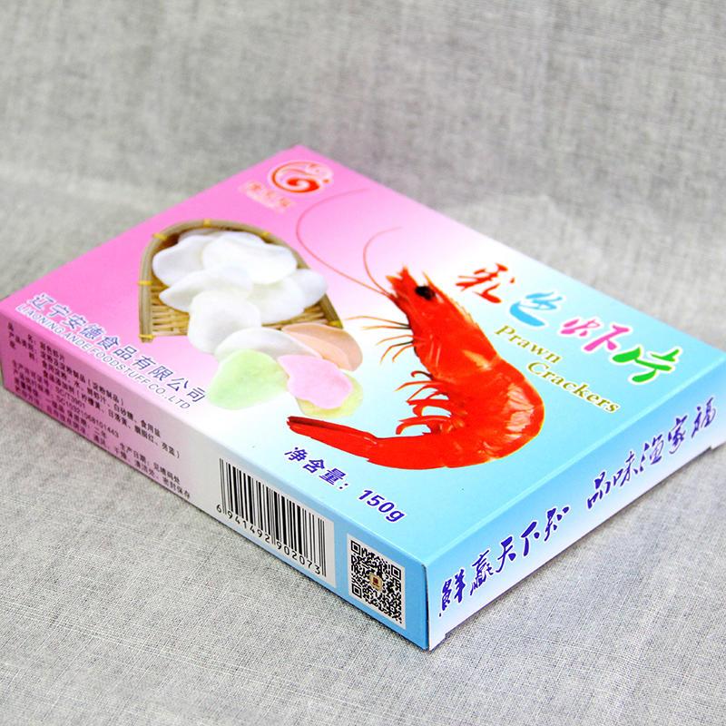 彩色虾片(盒装)