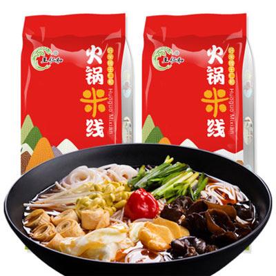 王仁和米线1kg*2袋火锅米线