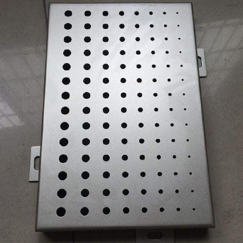 曲靖冲孔铝单板定制