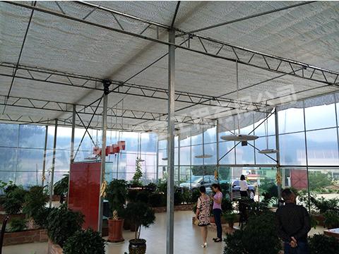 大棚式生态餐厅
