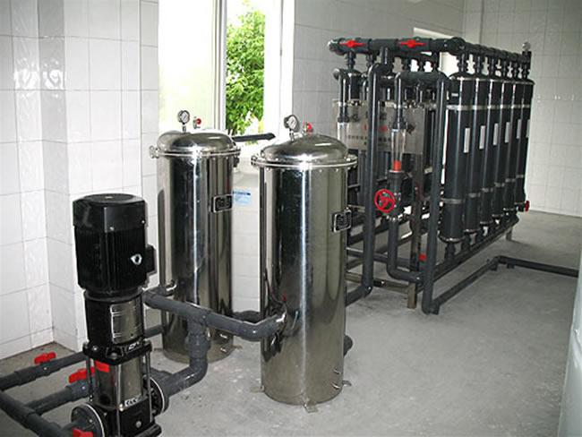 安全飲用15T/h超濾設備