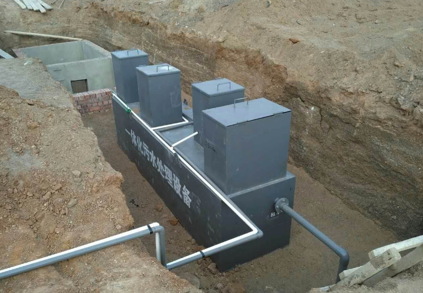 农村一体化生活污水处理设备多少钱