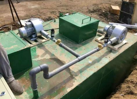 地埋式污水處理設備安裝