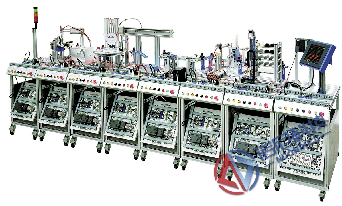 NTMMZ-2型 MES網絡型模塊式柔性自動化生產線實訓系統