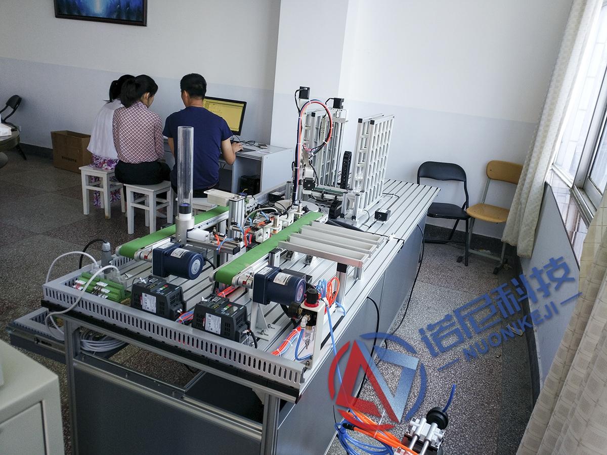 玉溪师范学院自动化实训室实训装置工程案例