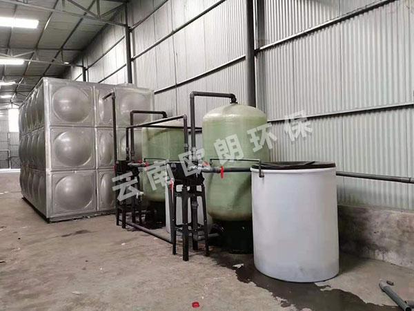大型水軟化設備