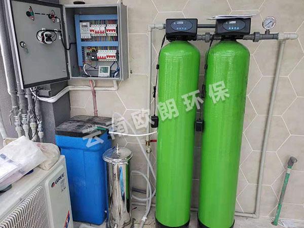 自動水軟化設備