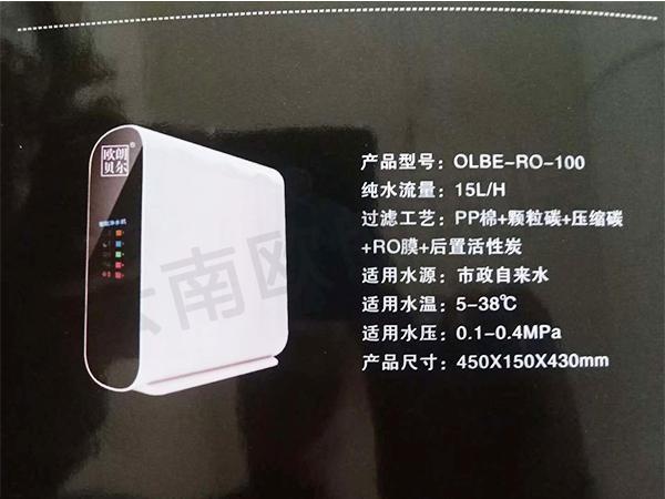 云南家用凈水器OLBE-RO-100廠家