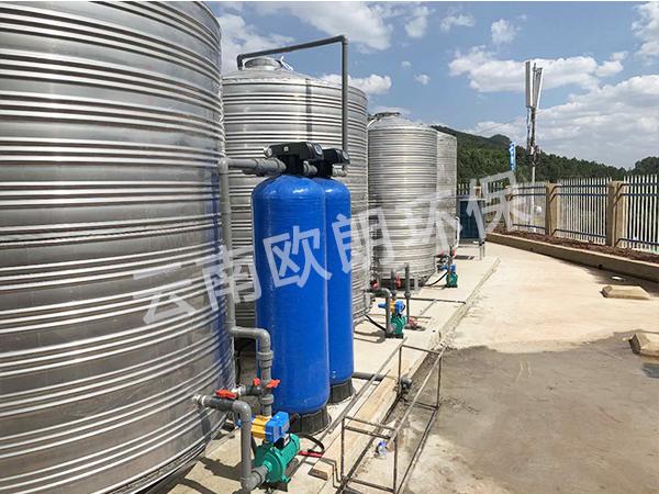中國鐵建項目部水處理設備-滇中飲水項目武定段