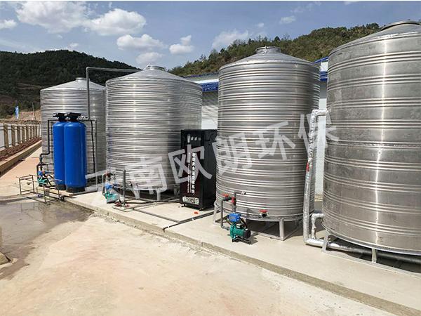 中國鐵建項目部水處理設備-滇中飲水項目武定段-3