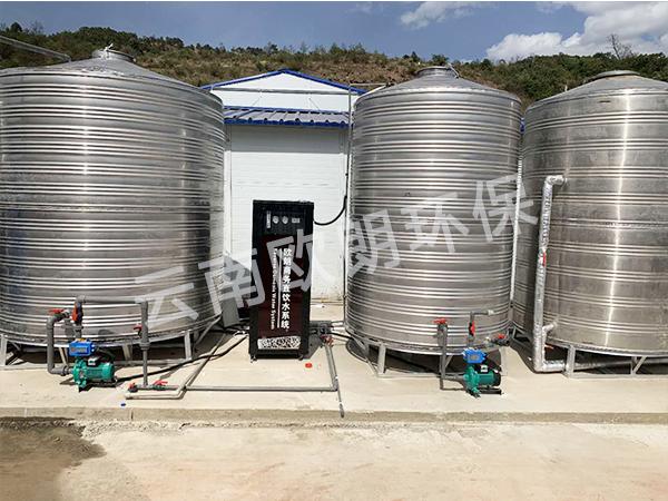 中國鐵建項目部水處理設備-滇中飲水項目武定段-4