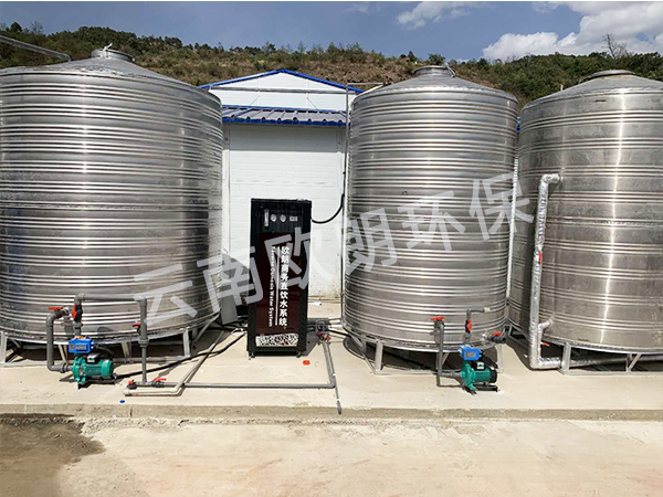 中国铁建项目部水处理设备-滇中饮水项目武定段-4
