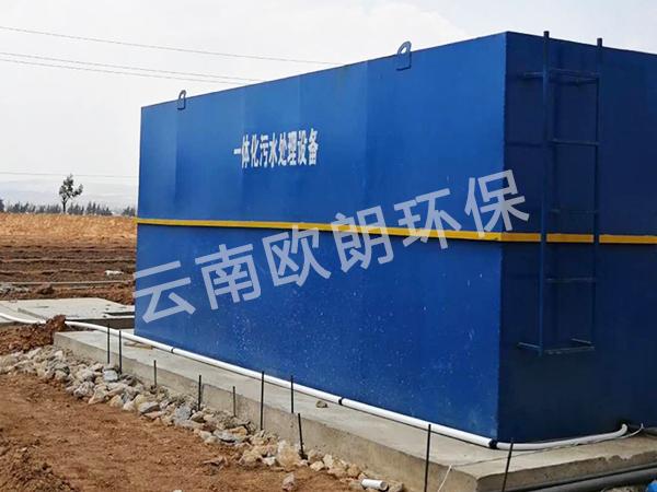 中鐵7局滇中飲水項目。祥云段污水處理