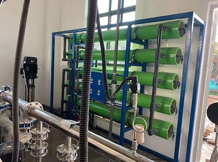 成都保泸高速服务区-10反渗透纯水设备