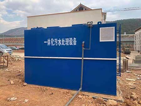 成都丽江一体化污水处理设备项目施工