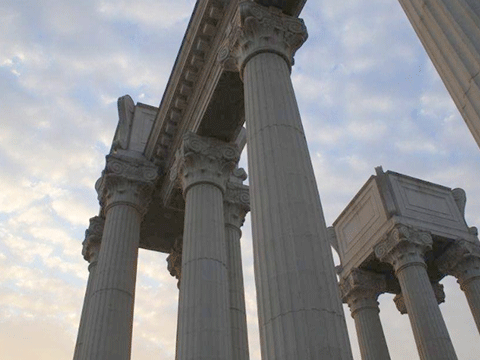 GRC罗马柱线条