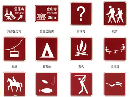 旅游区标志牌