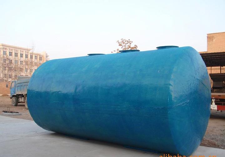 昆明玻璃钢化粪池厂家告诉您玻璃钢化粪池处理污水的过程