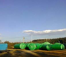 绿色玻璃钢隔油池