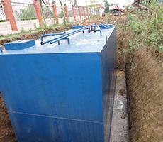 玻璃钢中水处理池设备