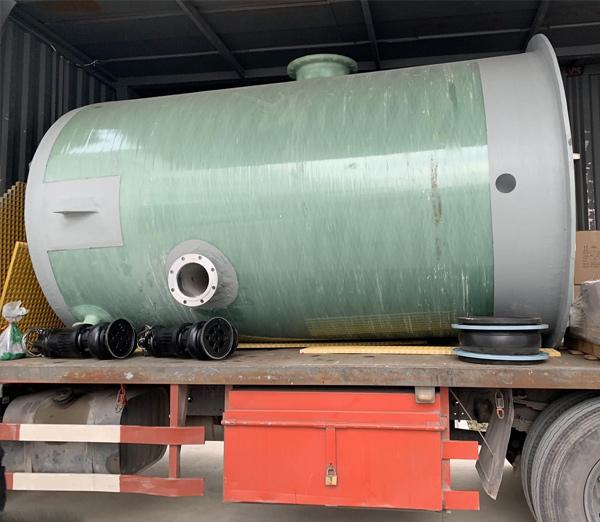 云南玻璃钢一体化泵站安装,昆明玻璃钢一体化泵站施工