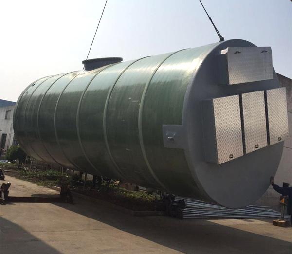 一体化玻璃钢智能泵站