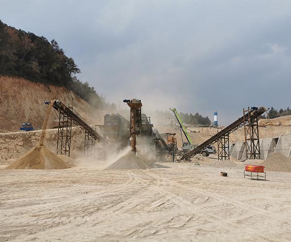 杨志清,姜根林,王轶,方丽春探讨交流砂石业发展问题走向