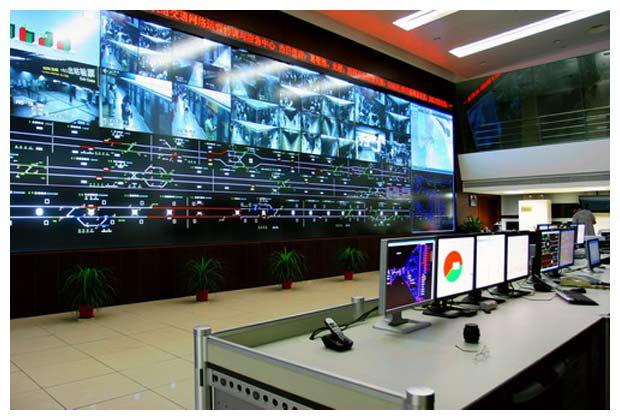 地铁轨道交通项目1、2、3、4、5、6号线全线监控系统