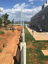 电子围栏安装案例