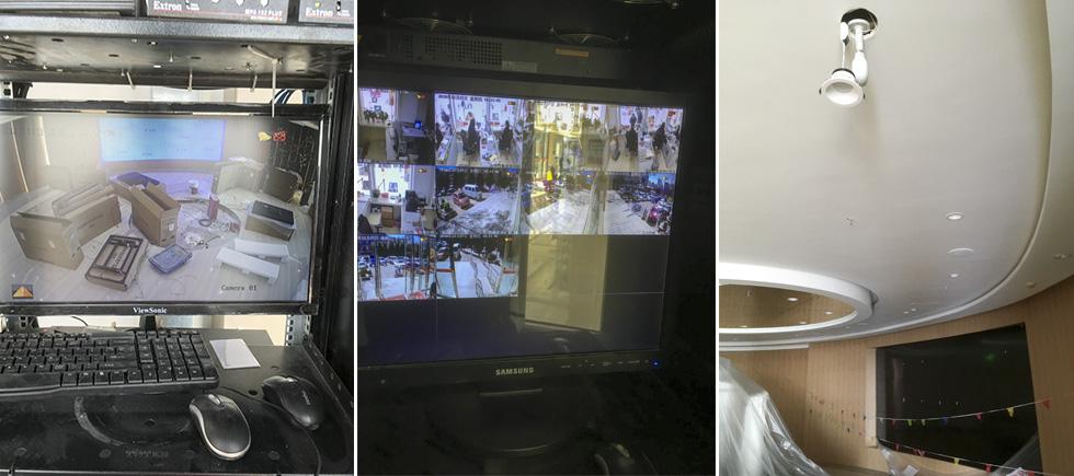 昆明恒隆广场售楼部视频监控系统安装案例