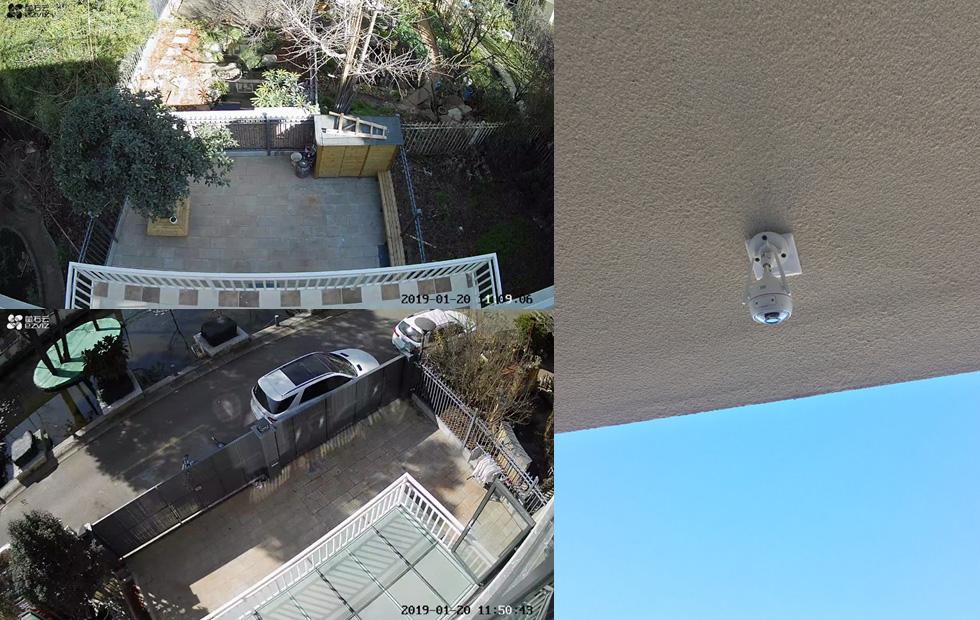 昆明滇池卫城无线WiFi覆盖别墅远程监控设备安装案例