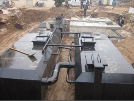 大型地埋式汙水處理設備