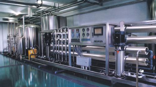 全自動不鏽鋼反滲透純水設備(40m³/D)