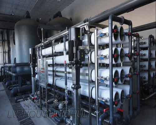 工業用40噸雙極純水機