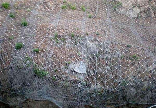 主动防护网---柔性防护网
