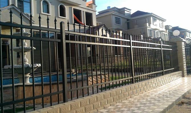 锌钢护栏--防盗小区护栏