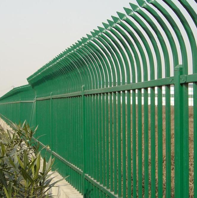 昆明单弯头锌钢护栏