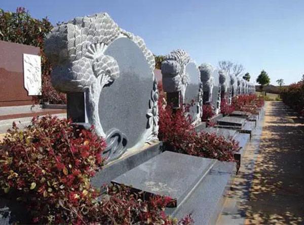 长松园陵园-现代墓型