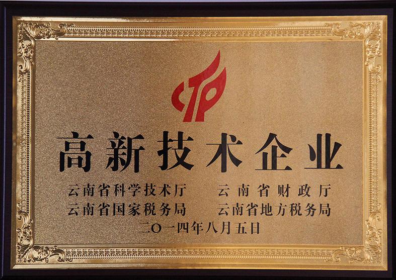 松凤电气荣誉证书三